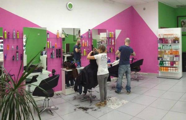 foto negozio parrucchieri olbia sifa
